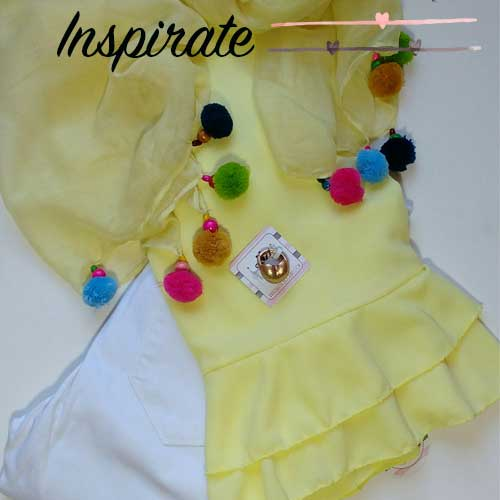 Outfit amarillo