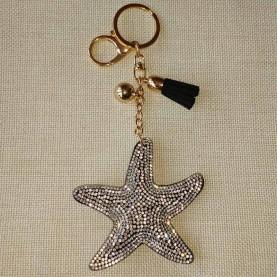 """Llavero """"estrella de mar"""""""