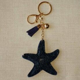 Llavero marino strass Star