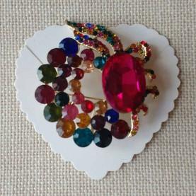 Multicoloured pin style 90004