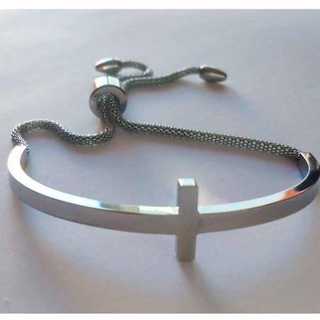Steel bracelet Love