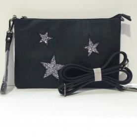 Bolso Estrellas Negro