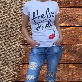 Camiseta Hello Friday