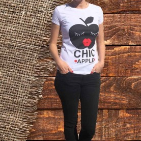 Camiseta Apple Chic