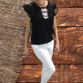 jeans elásticos blancos