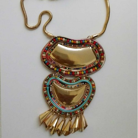 Collar Corto Egipto Multicolor