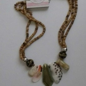 Collar Corto Natural Pieces