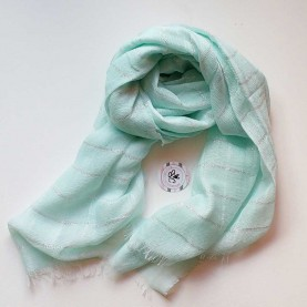 Lady scarf blue