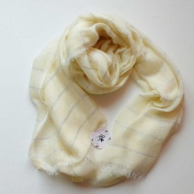 Lady scarf yellow