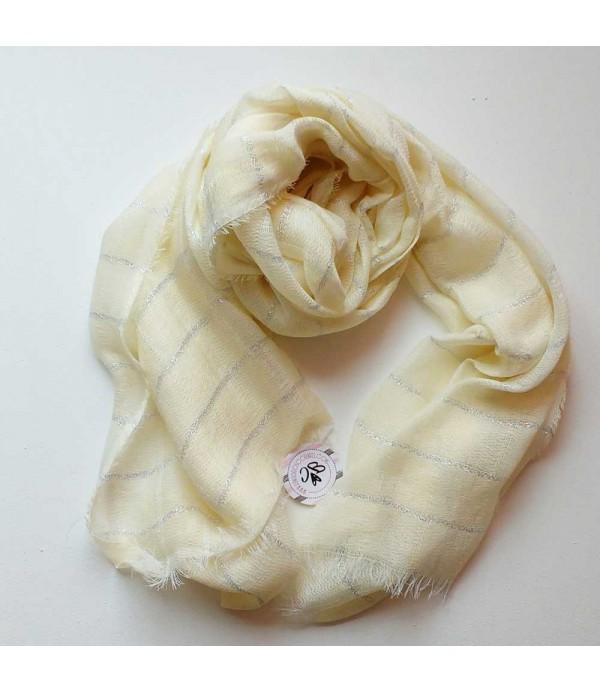 Lady scarf yellow