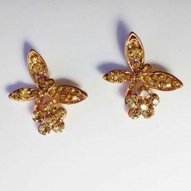 Pendientes Glitter Mariposa de Miss Briana