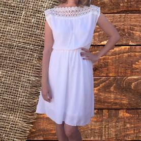 Vestido mujer blanco