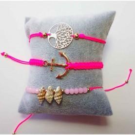 Set 3 bracelets Friends