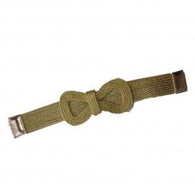 Cinturón-fajín dorado mujer