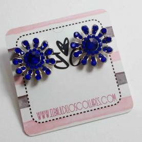 Pendientes color azul