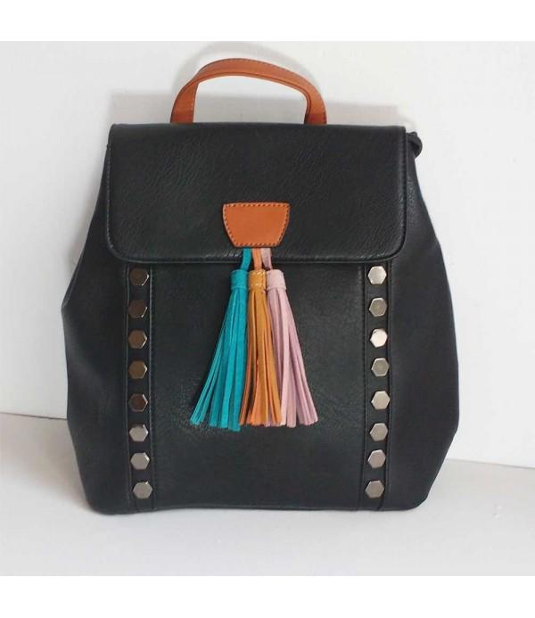 28edeae93 Mochila mujer negra- Comprar bolsos online
