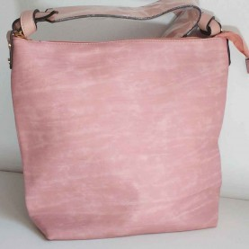 Bolso rosa de hombro Simply