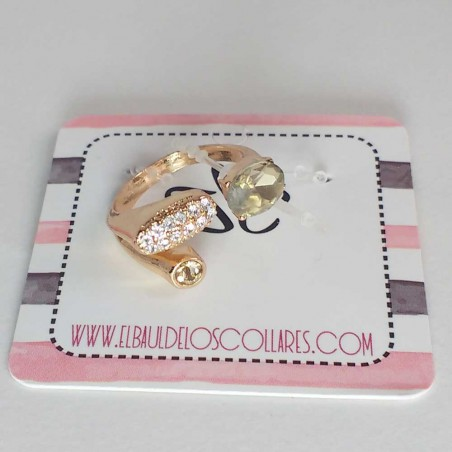 Anillo Ajustable champagne NS