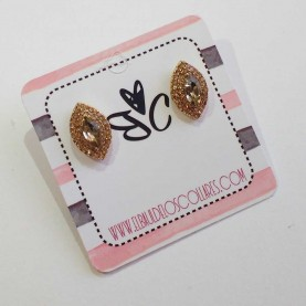 Small briliant earrings Aissa