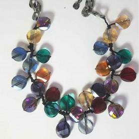 Collar de Cristal colores Paola