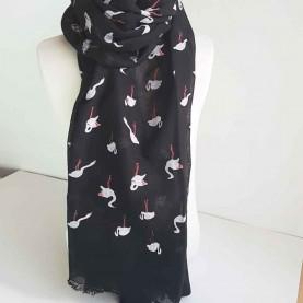 Pañuelo Cisnes Negro