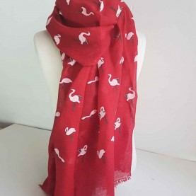 Pañuelo Cisnes Rojo