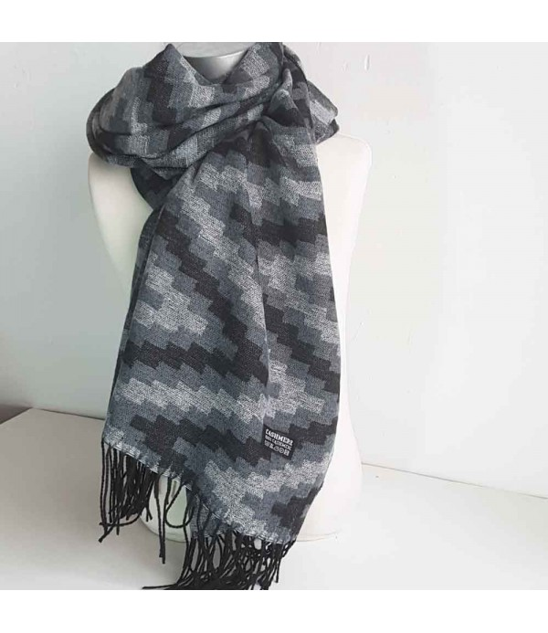 e426c50a2 Women cashmere fular in grey color
