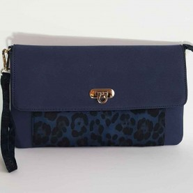 Bag Navy Blue Pekin