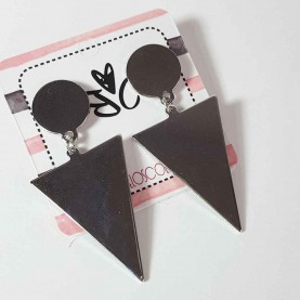 Triangular earrings Rocker