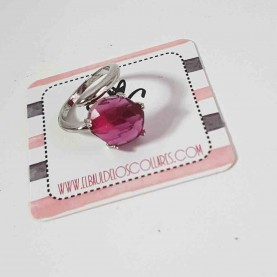 Anillo Ajustable Basic Pink