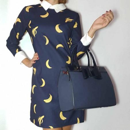 Vestido marino Banana