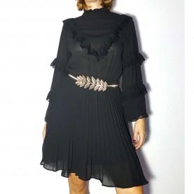 Vestido Negro gasa