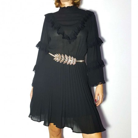 Vestido Negro Victoria