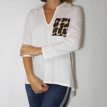 Camisa Blanca Casual