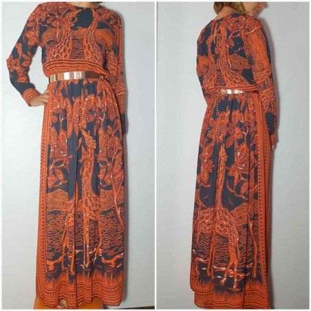 Vestido Largo Africa