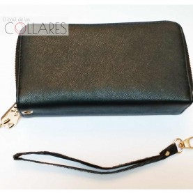 Cartera-clutch negra