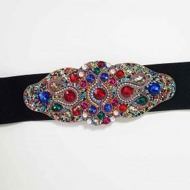 Cinturón-fajín multicolor Shanka