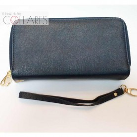 Cartera-clutch marino