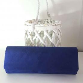 Bolso de fiesta Basic Azul