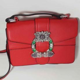 Shoulder Bag Perla Silver