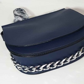 Women navy blue bag