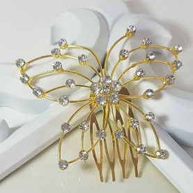 Golden butterfly for your hair
