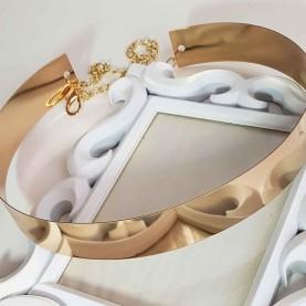 Cinturón de fiesta dorado