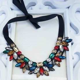 Collar Piedras Multicolor Princess