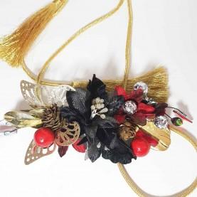 Cinturón Flores Mariposa
