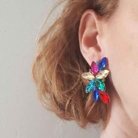 Light Pink earrings style Liz