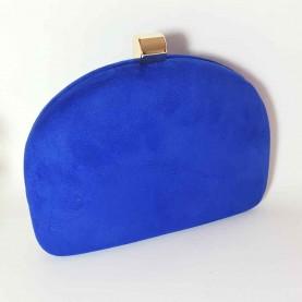 Bolso de fiesta azul Curve