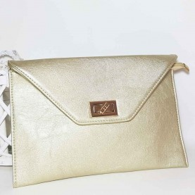 Golden hand Bag Style Envelope