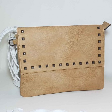 Red hand bag style rock