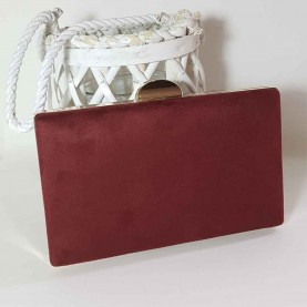 Marron small Bag style Square